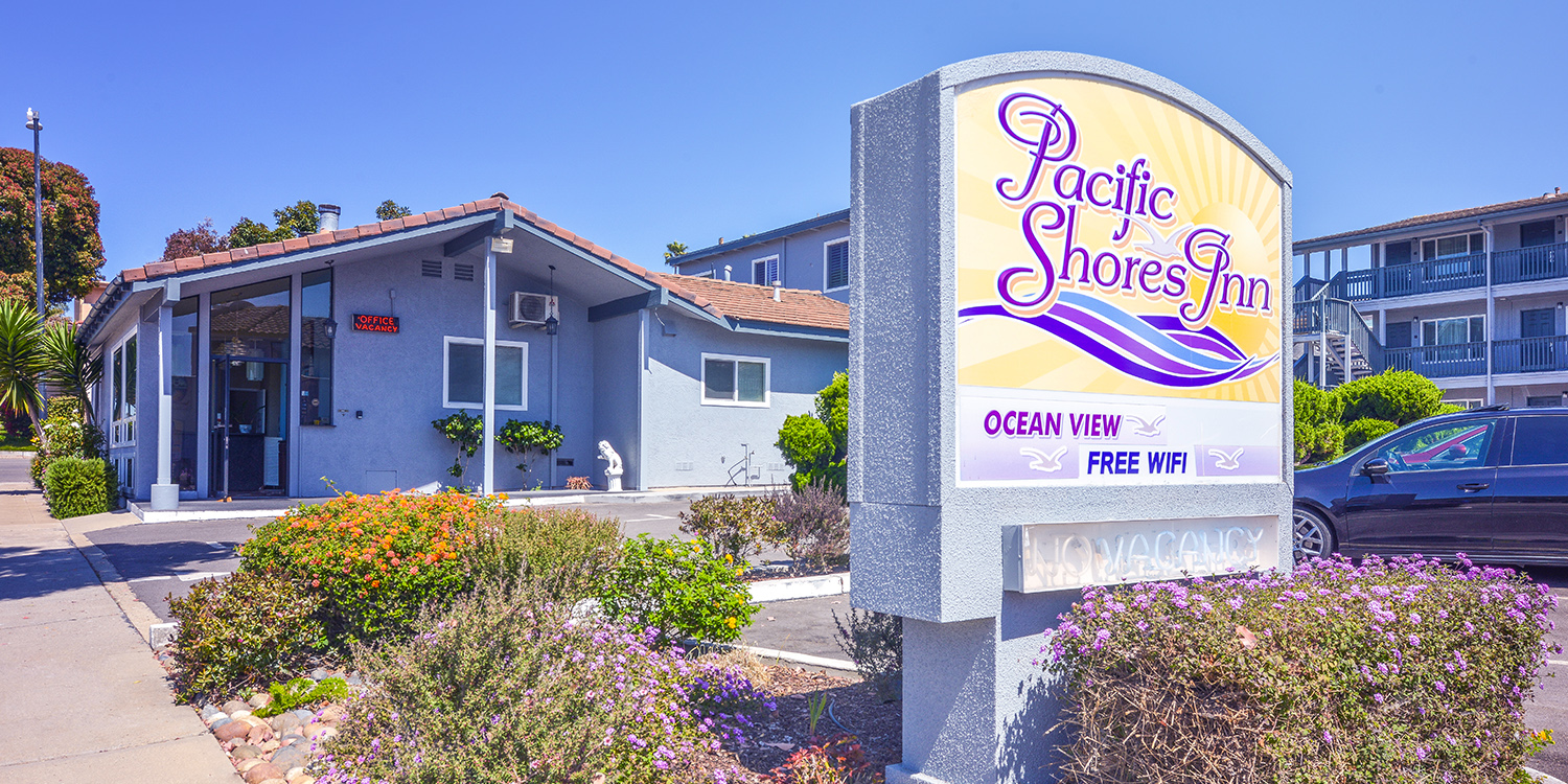 WELCOME TO PACIFIC SHORES INN AFFORDABLE LODGING IN MORRO BAY, CA
